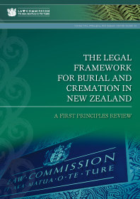 IP34 The Legal Framework for Burial and Cremation in New Zealand - Cover